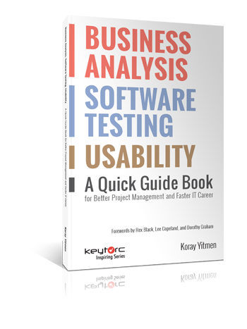 business analysis software testing usability Koray Yitmen